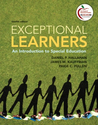 Exceptional Learners: An Introduction to Special...