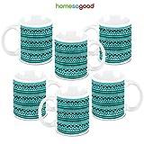 HomeSoGood Flow Of Electrons Coffee Mugs (6 Mugs)
