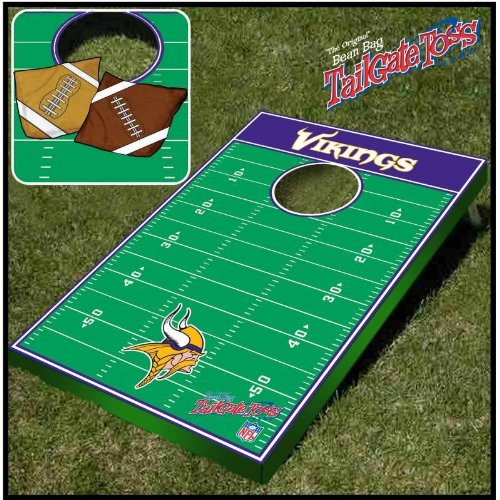 Minnesota Vikings Tailgate Toss Game by Wild Sports