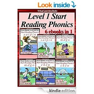 Level 1 Start Reading Phonics Books 01-06 (6 ebooks in 1 ...