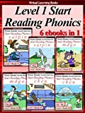 Level 1 Start Reading Phonics Books 01-06 (6 ebooks in 1) (Phonic Ebooks (Children's Start Reading Collections))