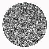 Werzalit-hochwertige-Tischplatte-Granit-schwarz-runde-Form-60-cm-Bistrotisch-Bistrotische-Gartentisch-Gastronomie