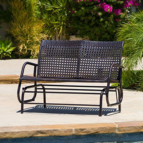 Burbank Outdoor Swinging Bench picture