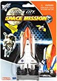 Daron Space Shuttle on Launch Pad 4.5 Inch Die Cast Vehicle