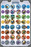 Poster Skylanders Compilation with Accessory Item multicoloured