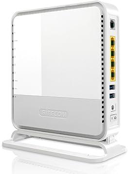 Sitecom WLM-6600 - Router (10, 100, 1000 Mbit/s, 10/100/1000Base-T(X), 802.11a, 802.11b, 802.11g, 802.11n, 11, 54, 150, 300, 450 Mbit/s, 2.4 GHz, Ethernet (RJ-45)) Color blanco