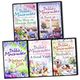 Debbie Macomber Debbie Macomber 5 Books Collection Pack Set RRP: £39.95 (A Turn in the Road , Hannah's List, A Mother's Gift., A Good Yarn (A Blossom Street Story) , Shop on Blossom Street)