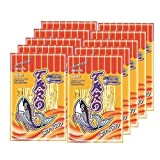 12 X Thai Taro Fish Snack Bar-B-Q Flavour 7.5 G. (12 Packs)
