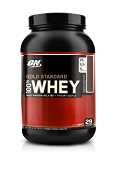 Optimum Nutrition 100% Whey Gold Standard, Double Rich Chocolate 2 Pound