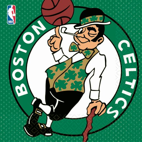 Amscan Boston Celtics Basketball - Lunch Napkins (16)