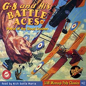 G-8 and His Battle Aces #33, June 1936 | [Robert J. Hogan, RadioArchives.com]