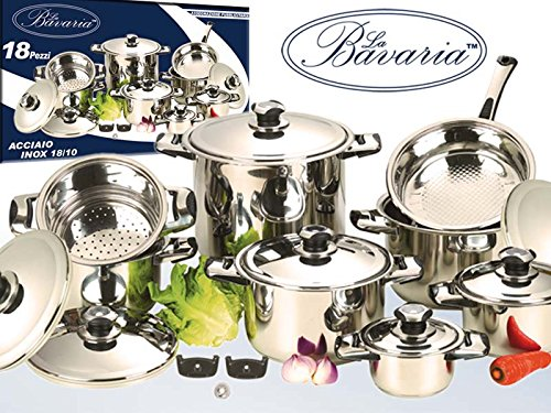 euroricami-viterbo-bavaria-batterie-de-cuisine-18-pieces-en-acier-inoxydable-18-10
