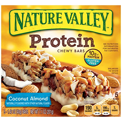 (VIDEO Review) Nature Valley Coconut Almond Protein Chewy