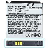 Akku-King Li-Polymer Battery for Samsung SGH-C170 C180 - replaces AB553436AE - 750mAh