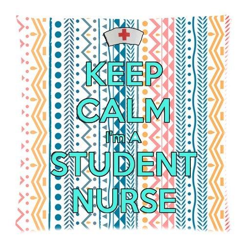 [Keep calm i'm a nurse pattern Zippered Pillow Case ,18