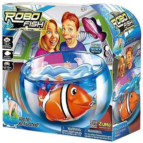 Robo Fish - actif dans l'eau - avec Aquarium et réservoir