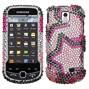 MyBat Diamante Protector Cover for Samsung M910 (Intercept) - Retail Packaging - Twin Stars
