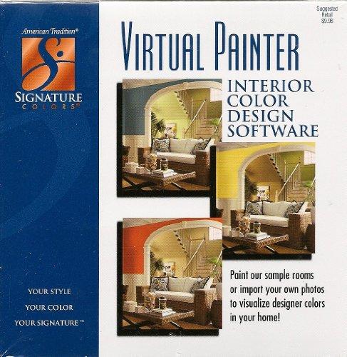 Virtual painter interior color design software computer for Punch home landscape design suite with nexgen technology