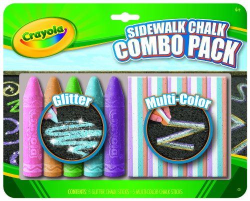 Crayola Special Effects Sidewalk Chalk