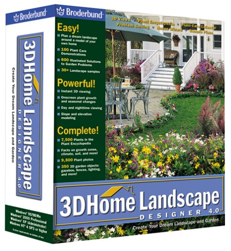 3d home landscape designer software computer software for Landscape design computer programs
