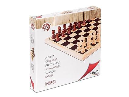 Cayro - 633 - Jeu D'échecs En Bois