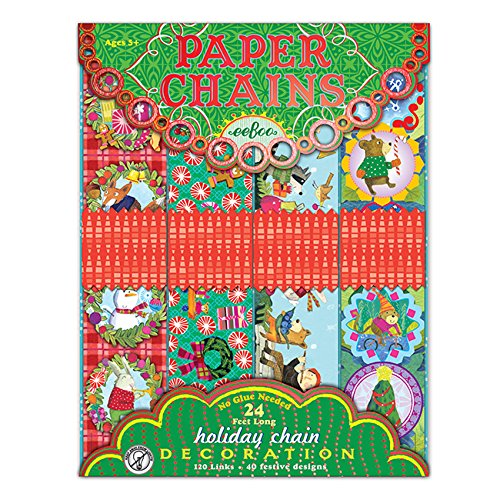 eeBoo Holiday Paper Chains - 1