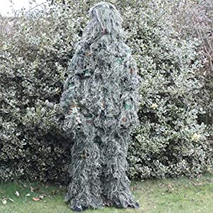 Woodside Kidschildrens Ghillie Suit Woodland Camocamouflage Tree 3d Hunting from Woodside