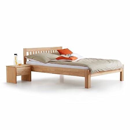 Ecolignum | Le grand lit COMO (#340160) | 160x200 | Lit double en bois massif 160 x 200 cm. | Aulne | Neuf