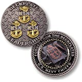 US Navy Deck-Plate Leadership Challenge Coin