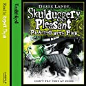 Skulduggery Pleasant: Playing with Fire Audiobook by Derek Landy Narrated by Rupert Degas
