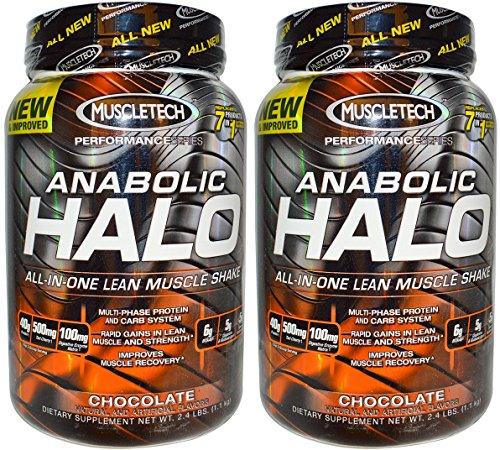 (2 Pack) - Muscletech - Anabolic Halo Chocolate | 1100g | 2 PACK BUNDLE