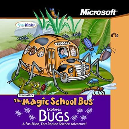 Magic School Bus Explores Bugs