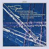 シュポア:2つのヴァイオリンのコンチェルタンテ 第1番 イ長調 Op.48/同第2番 ロ短調 Op.88 他