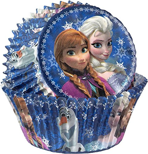 Frozen Cupcake Baking Cups (50 Pack) - Party Supplies
