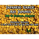 Japanese Garlic (Ajo Japones) 100% Natural!! Different Weights (1 Lb, 2 Lbs, 5 Lbs, 10 Lbs, and 20 Lbs) (1)