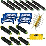 iRobot Roomba 532 - AeroVac Vacuum Cleaner Accessory Kit Roomba 500, 600 Series Accessory Kit - Includes: Battery, 6 Beater Brushes, 6 Bristle Brushes, 6 Filters, 6 Side Brushes