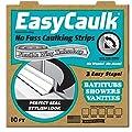 "Easy Caulk ""Press in Place"" White Bath and Shower Caulk Strips"