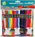 Iris 105-Pack Embroidery Giant Floss Pack, 8m by Notions - In Network