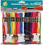 Iris 105-Pack Embroidery Giant Floss...