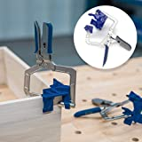 Ammzzoo111 Right Angle Fixing Clip, 90 Degree Right Angle Corner Clamp Woodworking Clamping Hand Tool for Furniture Welding, Wood-Working, Drilling,Making Cabinets (Color: Multi)