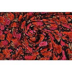 Triveni Faux Georgette Fabrics (TSFP16_Multi)