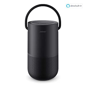 Bose Portable Home Speaker - with Alexa Voice Control Built-In, Black (Color: Triple Black)