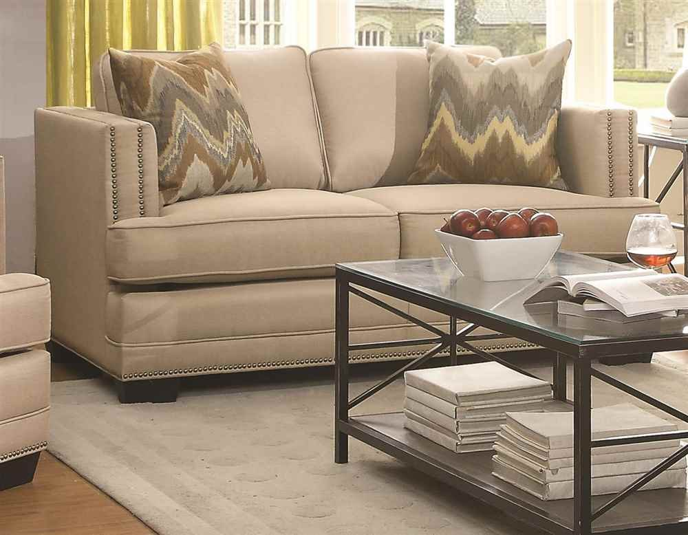 Loveseat with Shelter Arm