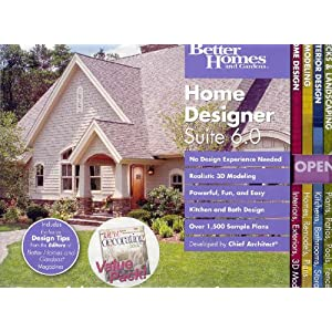 Better Homes And Gardens Home Designer Suite 6 0 Bundle
