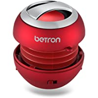 Betron BPS60 Wireless Rechargeable Compact Portable Mini Travel Speaker