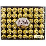 Ferrero Rocher Fine Hazelnut Chocolate, 48 Count (Pack of 2)