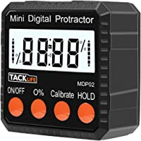 Tacklife Advanced Digital Protractor ith Magnetic Base Battery Included