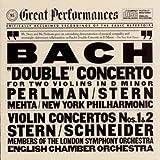 """Bach: """"Double"""" Concerto for Two Violins in D minor; Violin Concertos Nos. 1 & 2"""