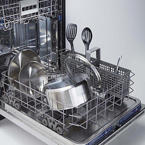 Calphalon 10 Piece Cookware Set, Medium, Stainless Steel