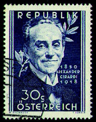 Briefmarken Österreich Nr. 958 gestempelt Girardi 1950